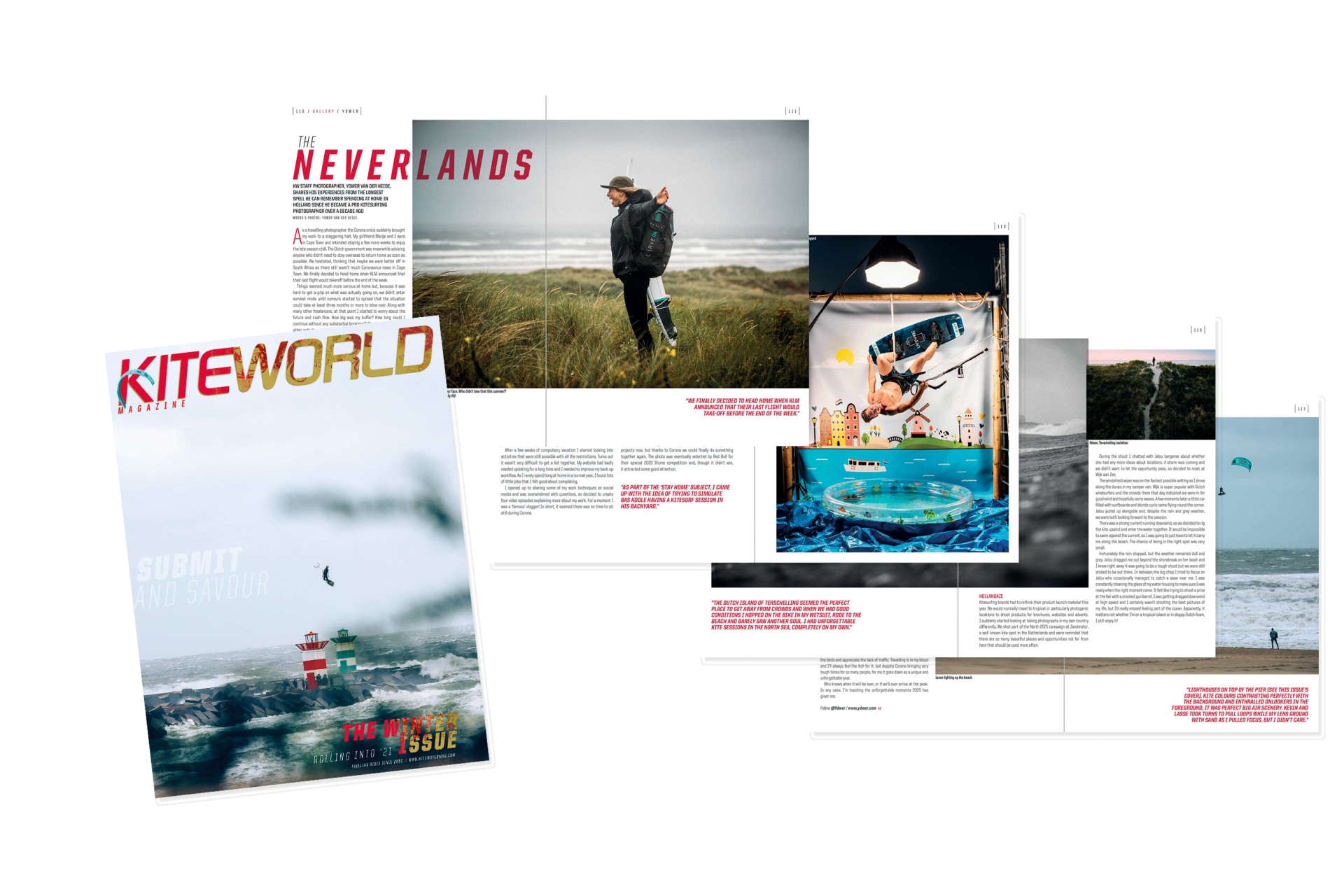 Ydwer van der Heide kitesurfing gallery in Kiteworld