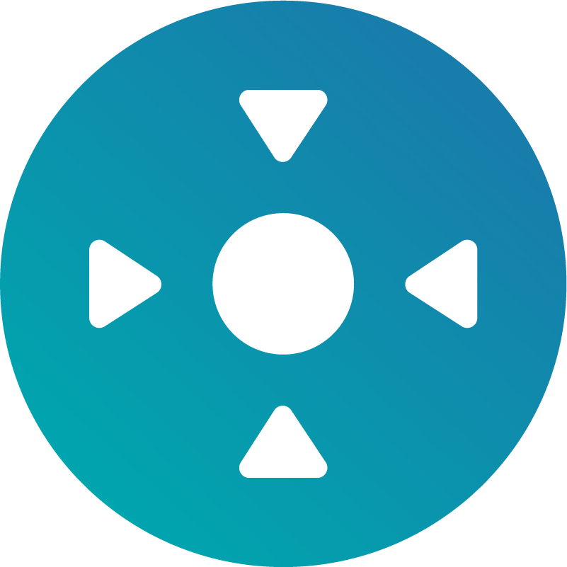 Icon of a target