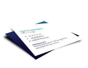 Example of a siteimprove business card