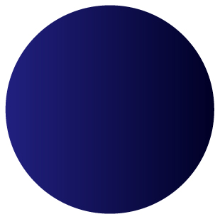 Gradient navy blue to deep ocean blue
