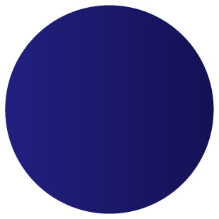 Gradient marine blue to navy blue